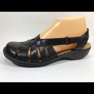 Clarks Bendables Leather Slingback Sandal 7.5 N